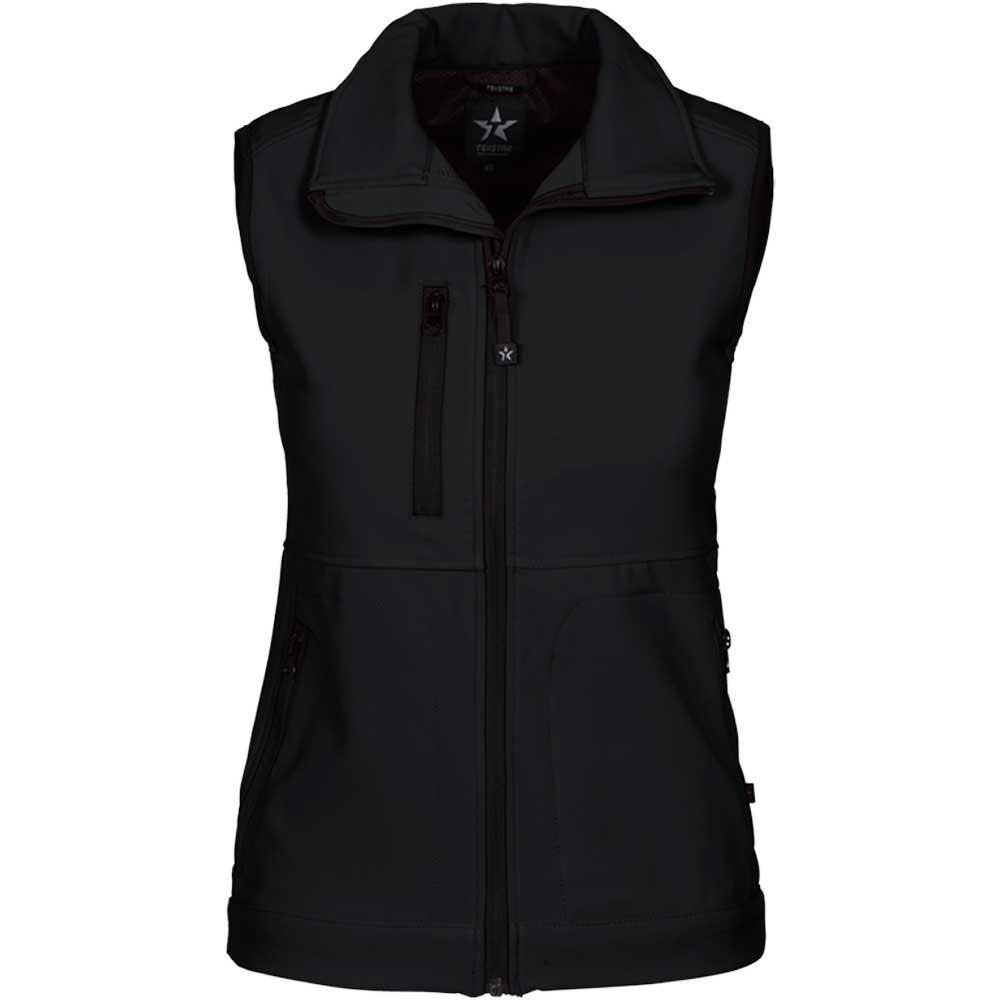 Women's Softshell Vest svart