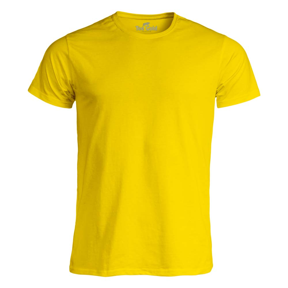 Tee Gold T-shirt 170g Gul