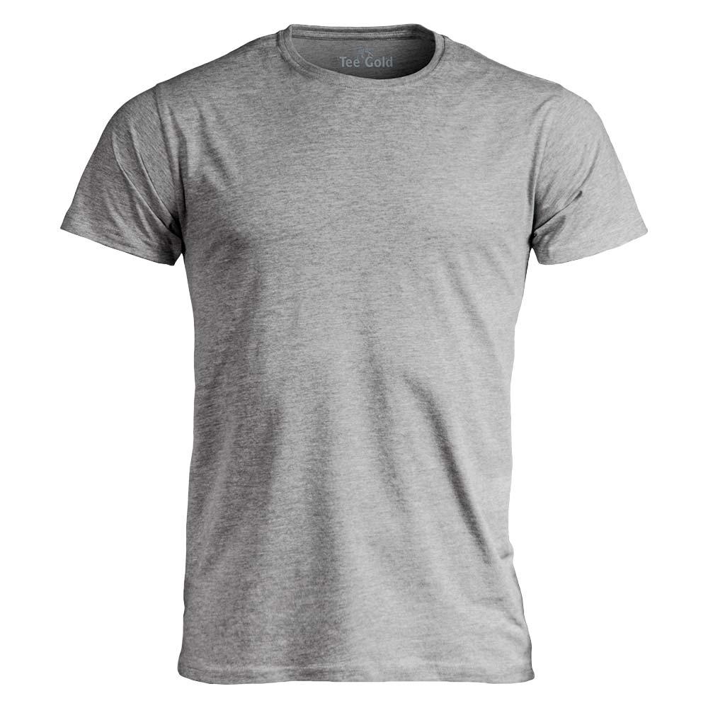 Tee Gold T-shirt 170g Gråmelerad