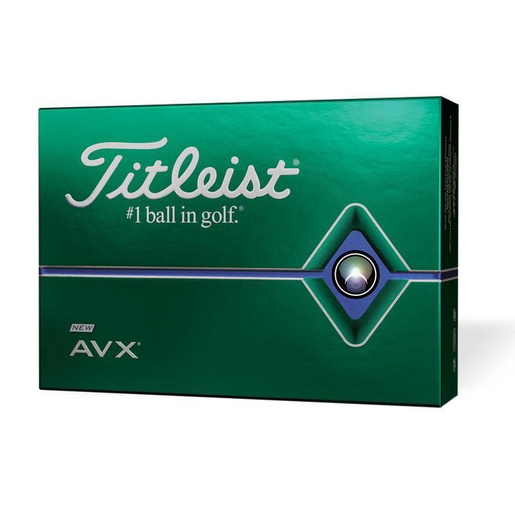 Golfboll Titleist AVX vit