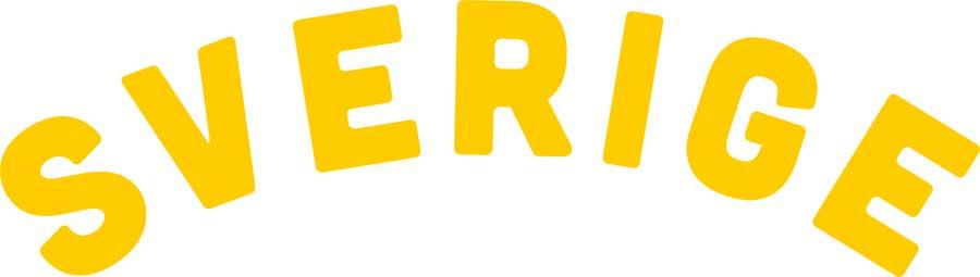 Transfermärke Sverige gul