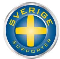 Transfermärke Support blå/gul