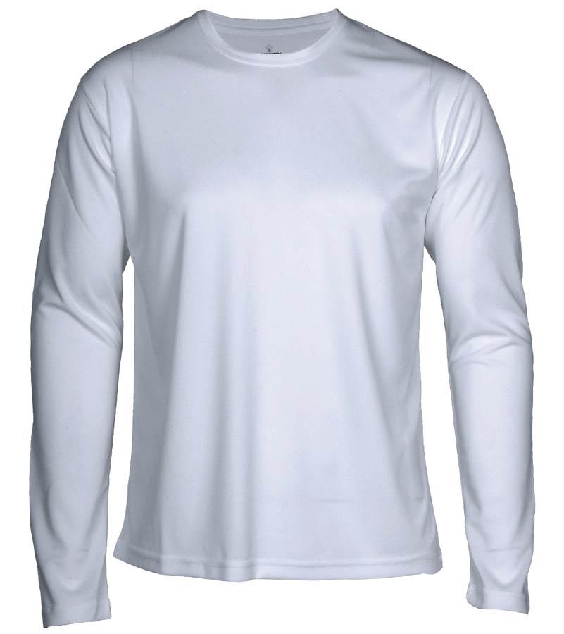 T-shirt Faster L/S Vit