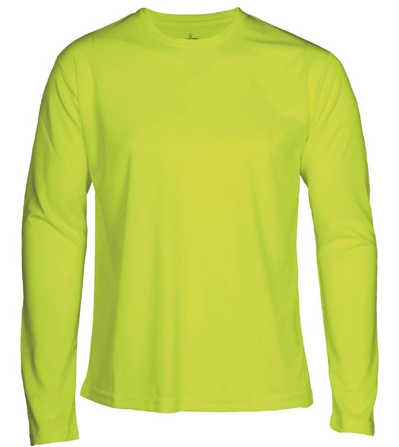 T-shirt Faster L/S Neongul