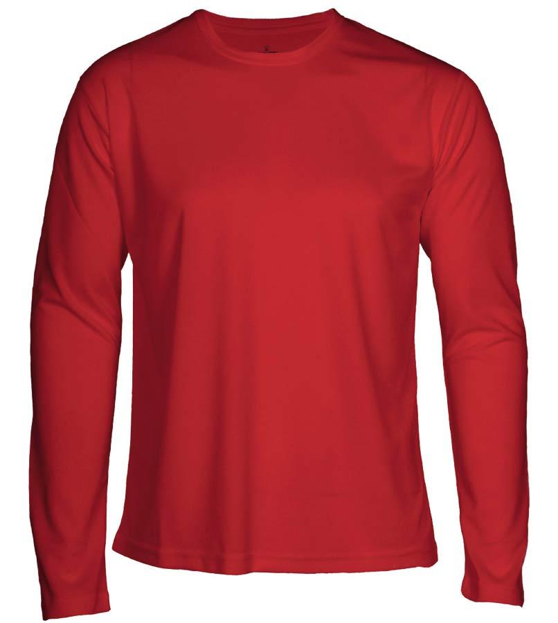 T-shirt Faster L/S Röd