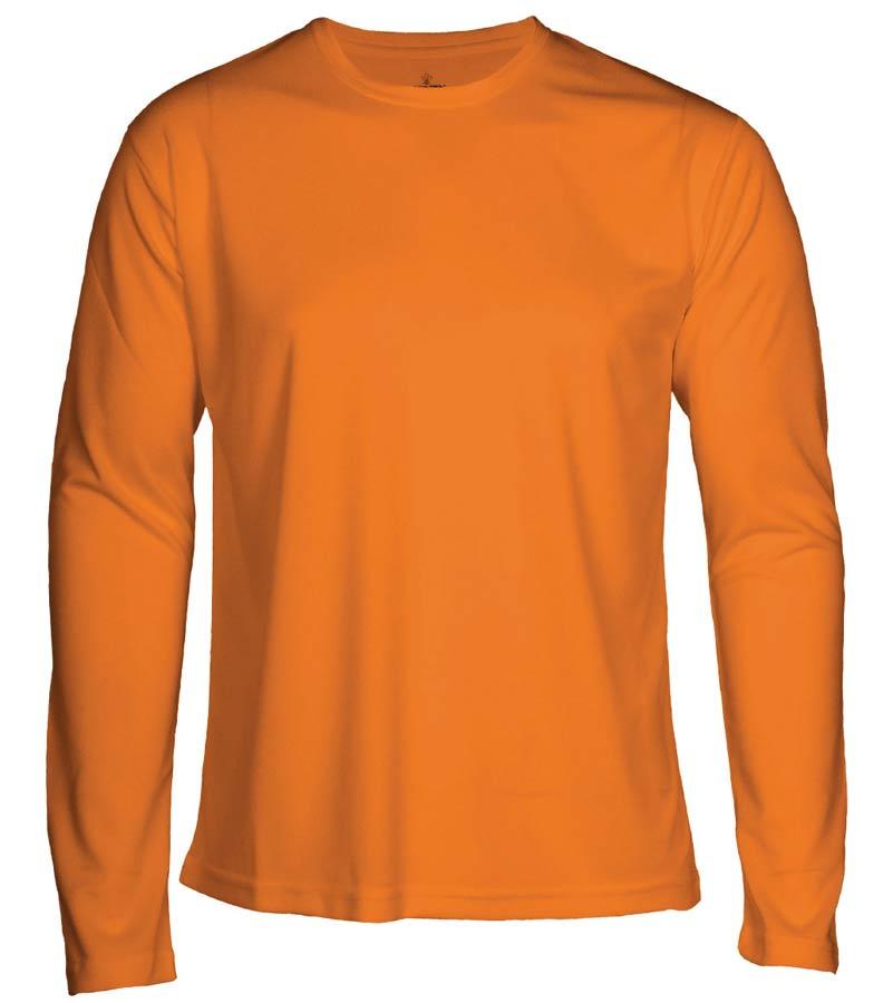 T-shirt Faster L/S Orange