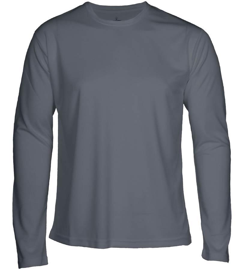T-shirt Faster L/S Grå