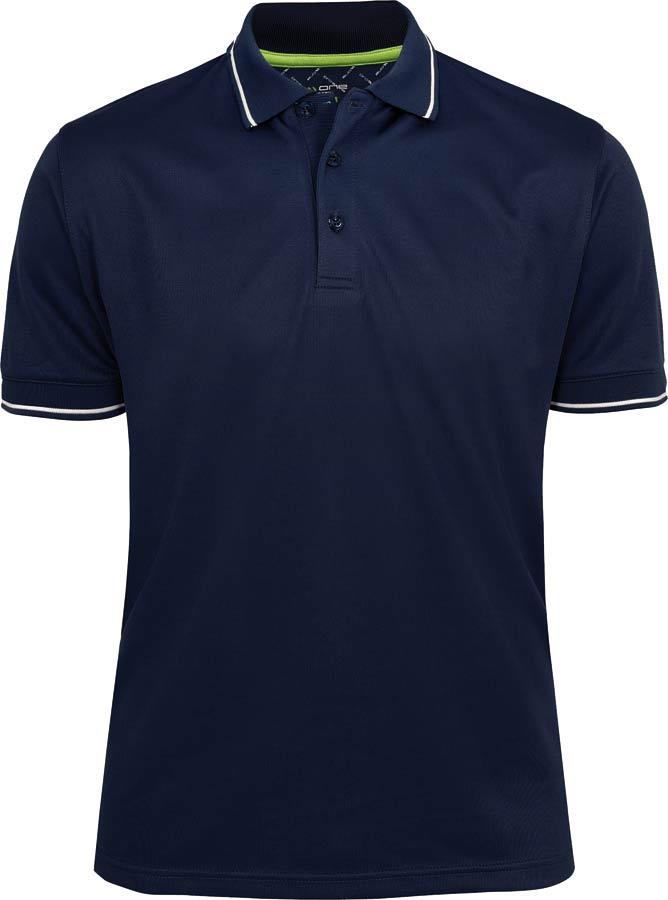 Herr Golfer Pique Marin