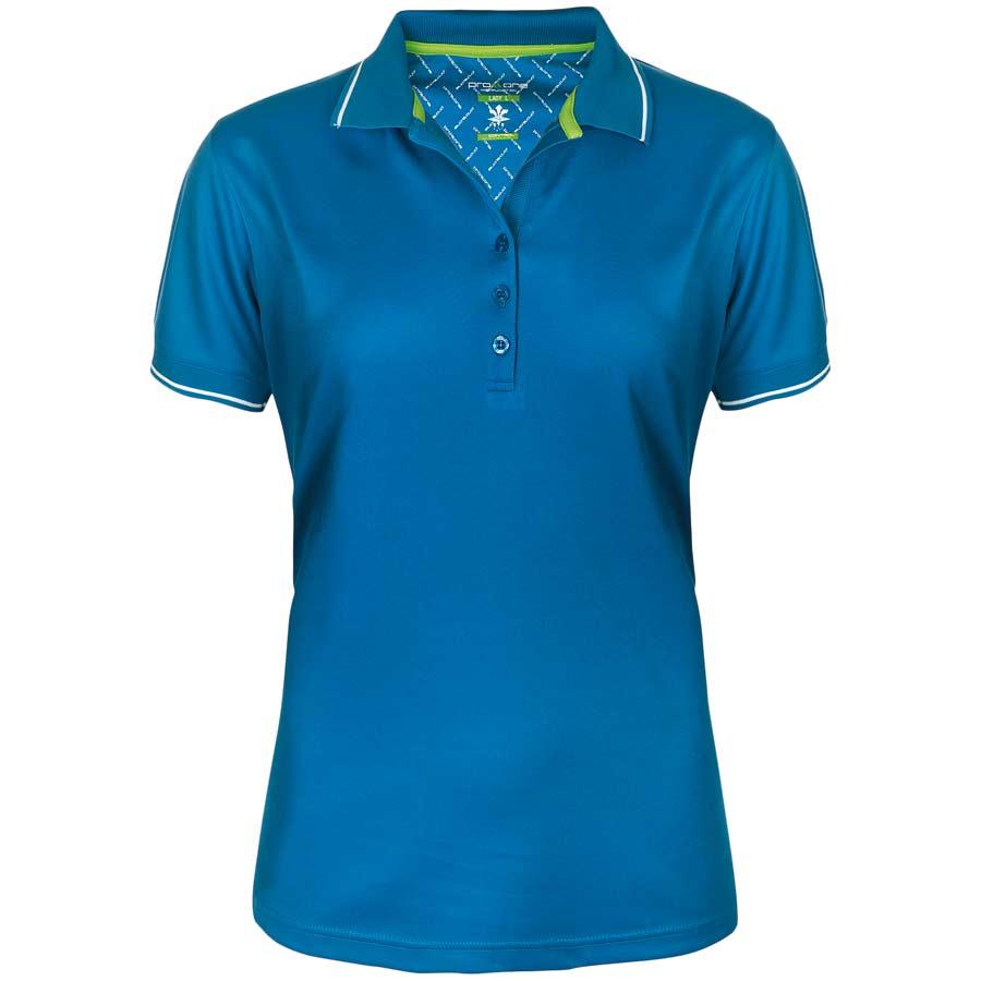 Dam Golfer Pique Royalblå