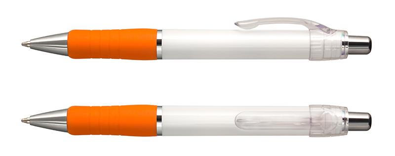 Max Chrome tvåfärgad vit/orange