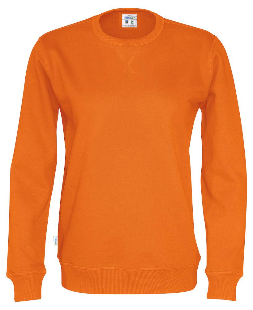 Crew Neck Unisex Orange