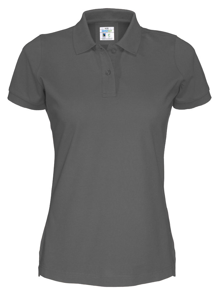 Piquet Cottover Lady Charcoal