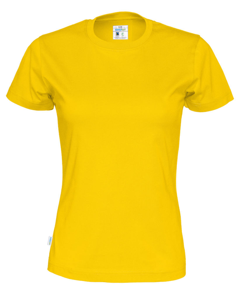 T-Shirt Cottover Lady Yellow