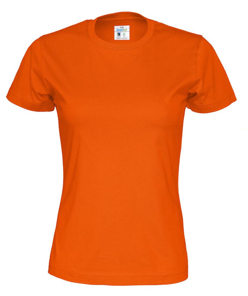 T-Shirt Cottover Lady Orange