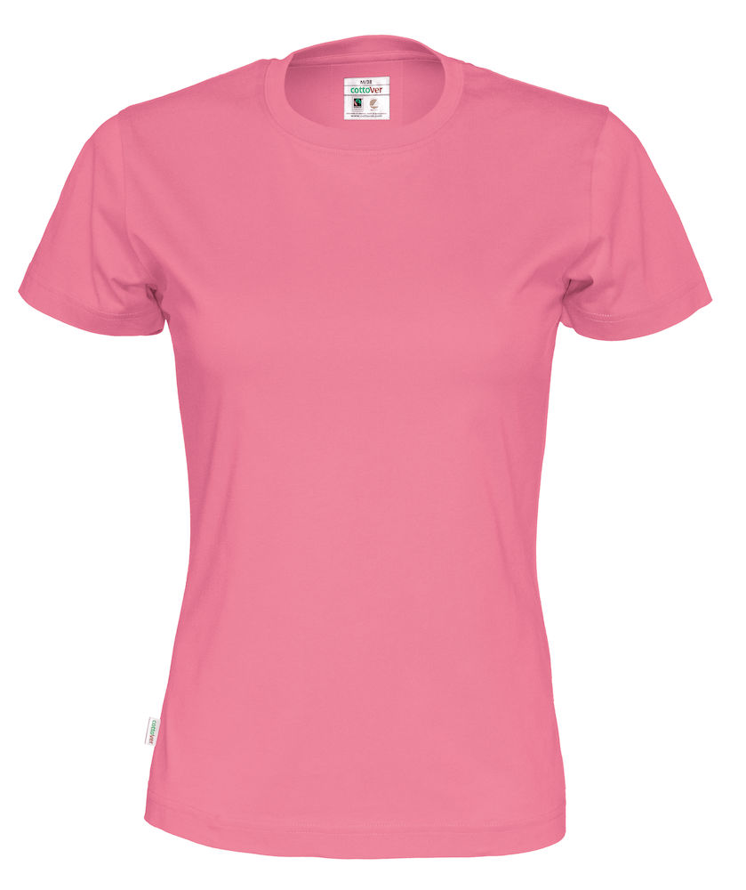 T-Shirt Cottover Lady Rosa