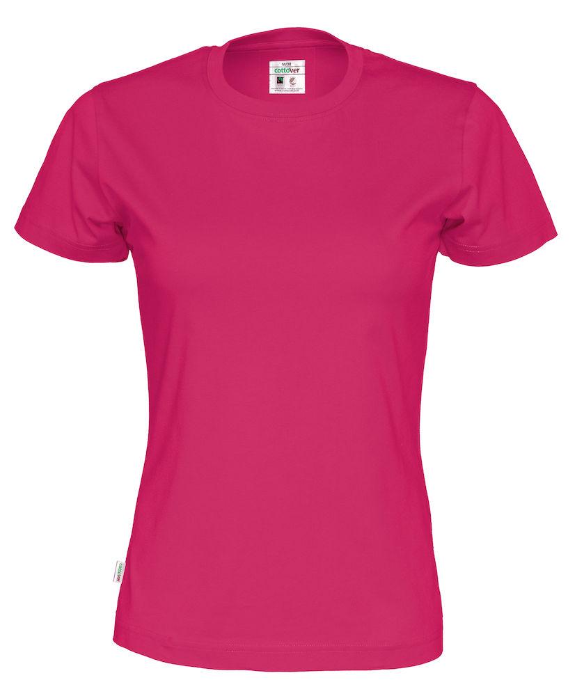 T-Shirt Cottover Lady Cerise