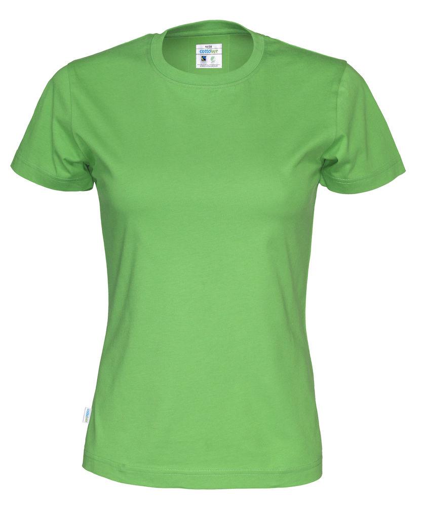 T-Shirt Cottover Lady grön