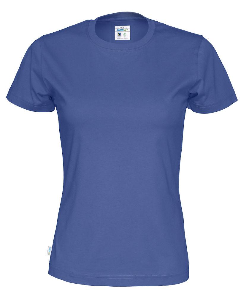 T-Shirt Cottover Lady Royal