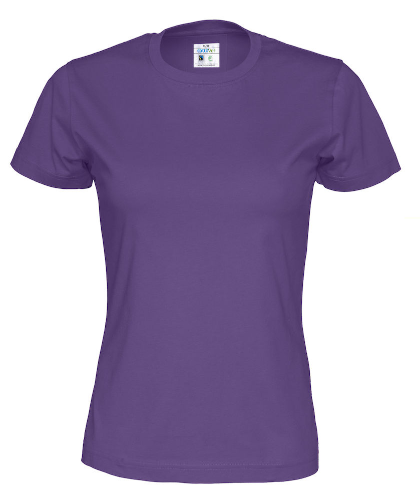 T-Shirt Cottover Lady Purple
