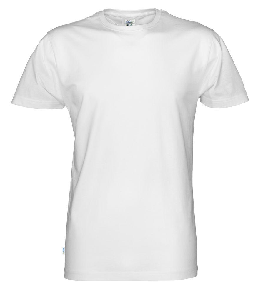 T-Shirt Cottover Man vit