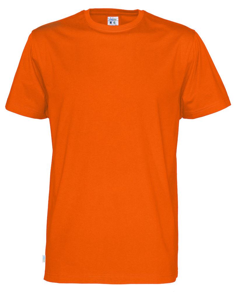 T-Shirt Cottover Man Orange