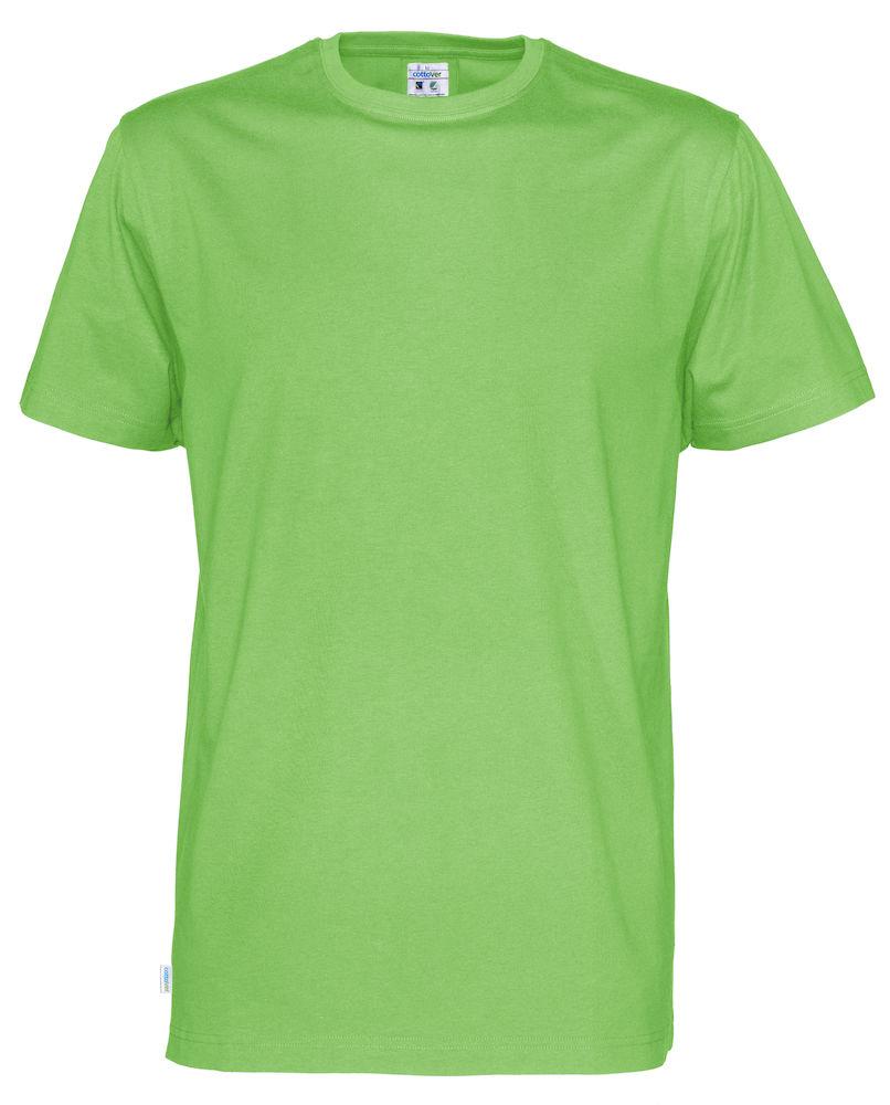 T-Shirt Cottover Man grön