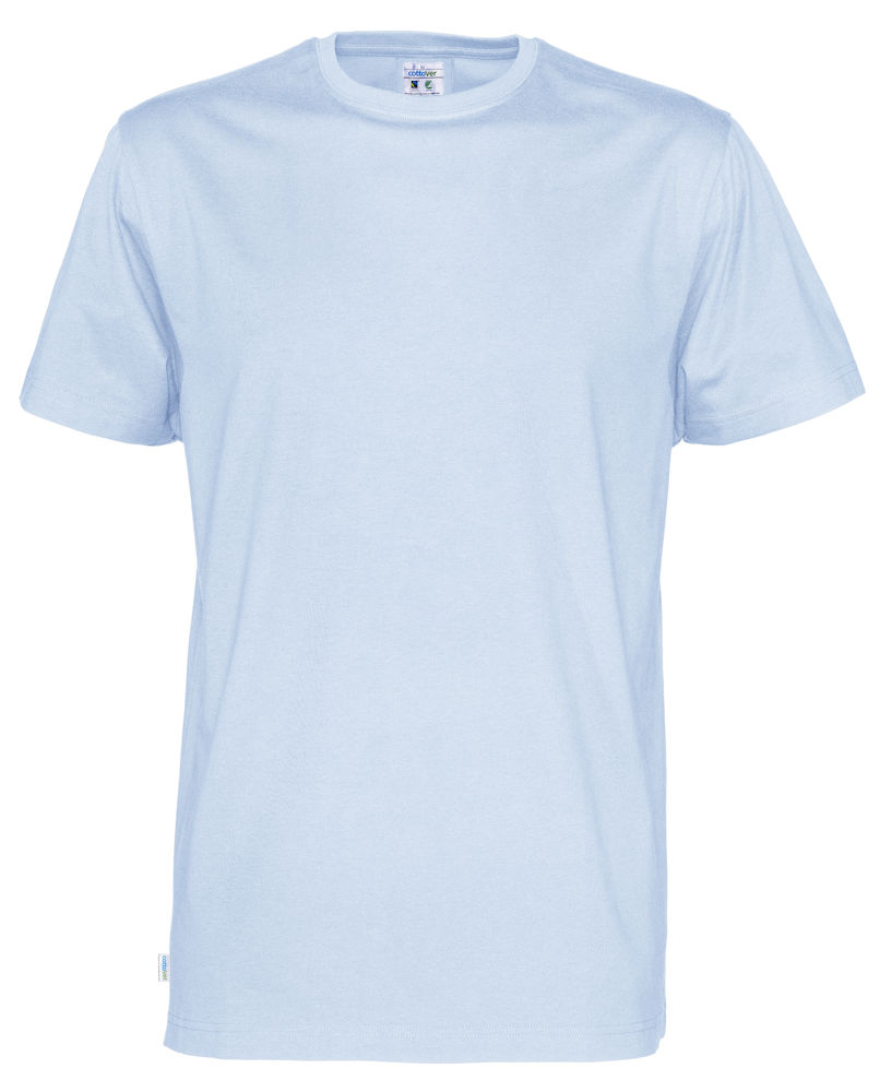 T-Shirt Cottover Man Sky blue