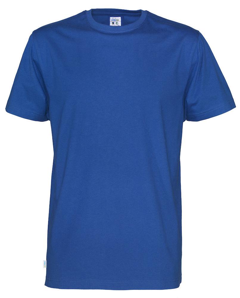 T-Shirt Cottover Man Royal
