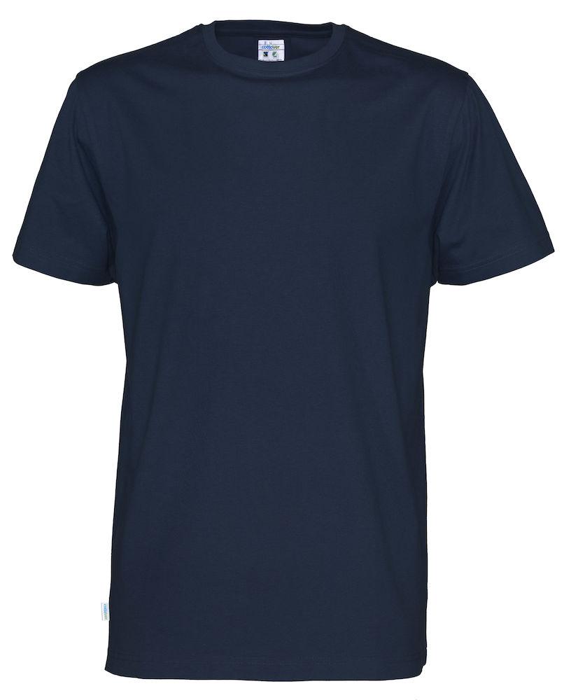 T-Shirt Cottover Man marin