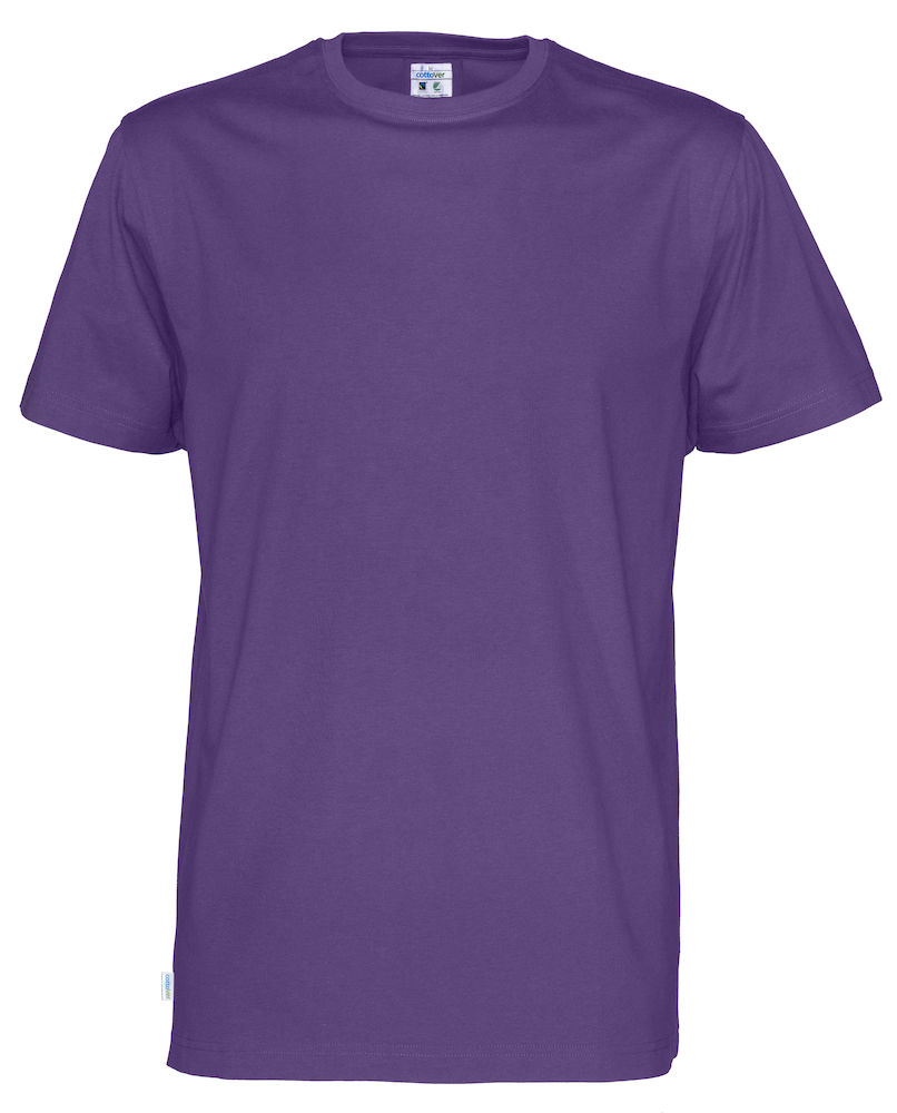 T-Shirt Cottover Man Purple