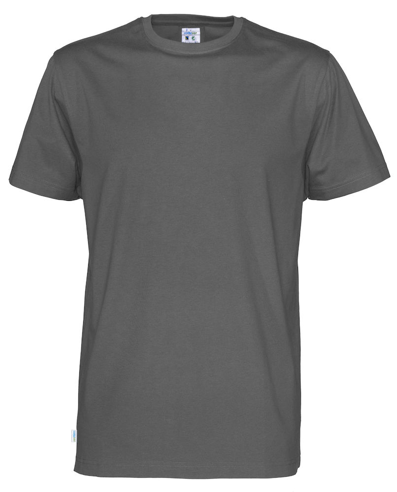 T-Shirt Cottover Man Charcoal