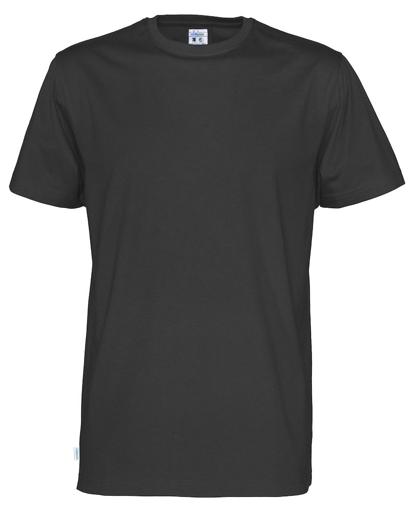 T-Shirt Cottover Man svart