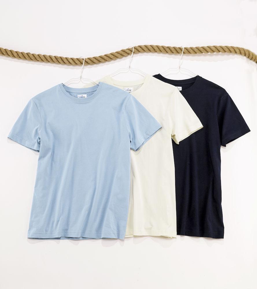 T-Shirt Cottover Man Cerise
