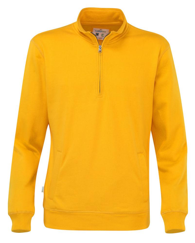 Half Zip Unisex Yellow