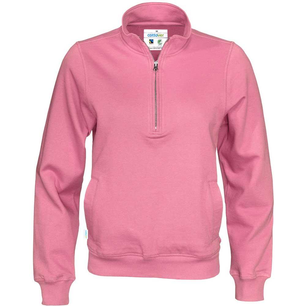 Half Zip Unisex rosa
