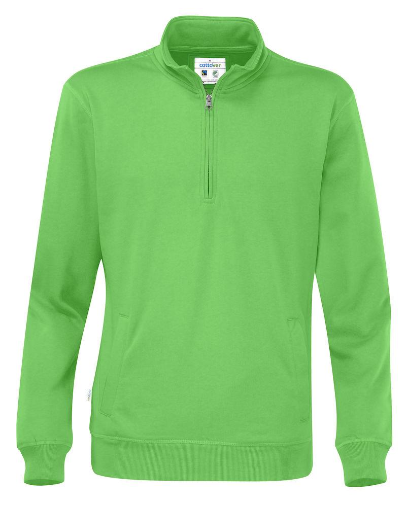 Half Zip Unisex grön