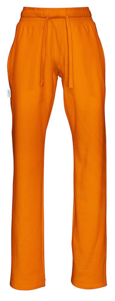 Sweat Pants Lady Orange