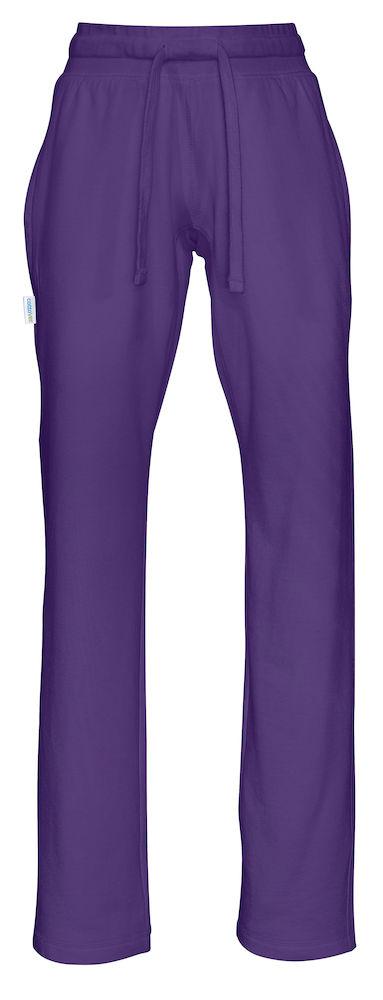 Sweat Pants Lady Purple