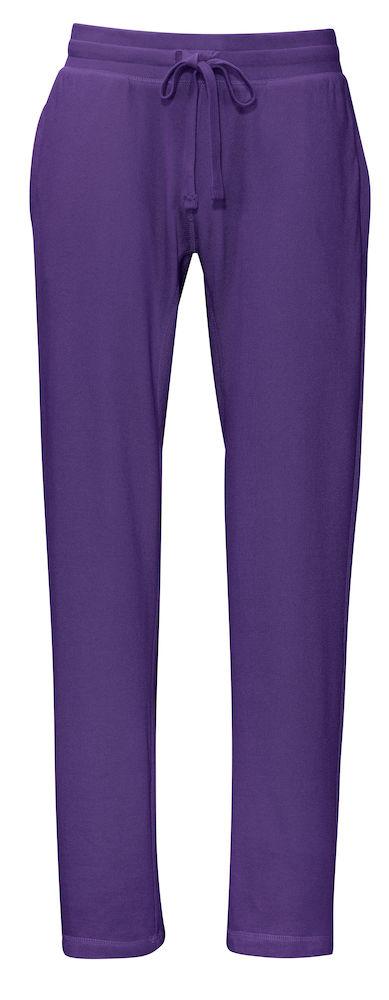 Sweat Pants Man Purple