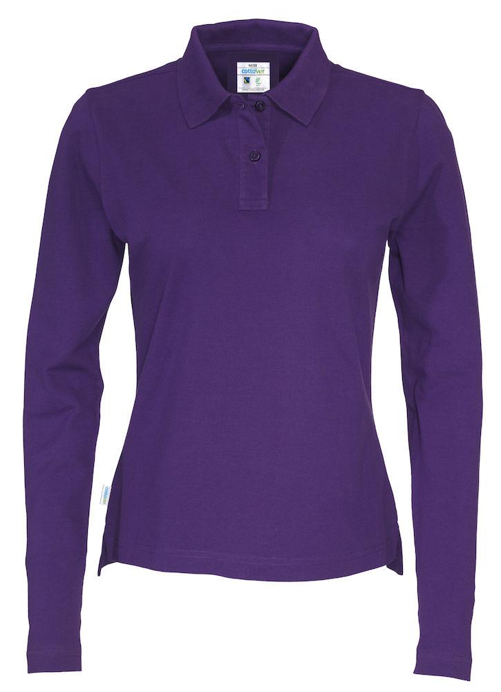 Piquet Long Sleeve Lady Purple