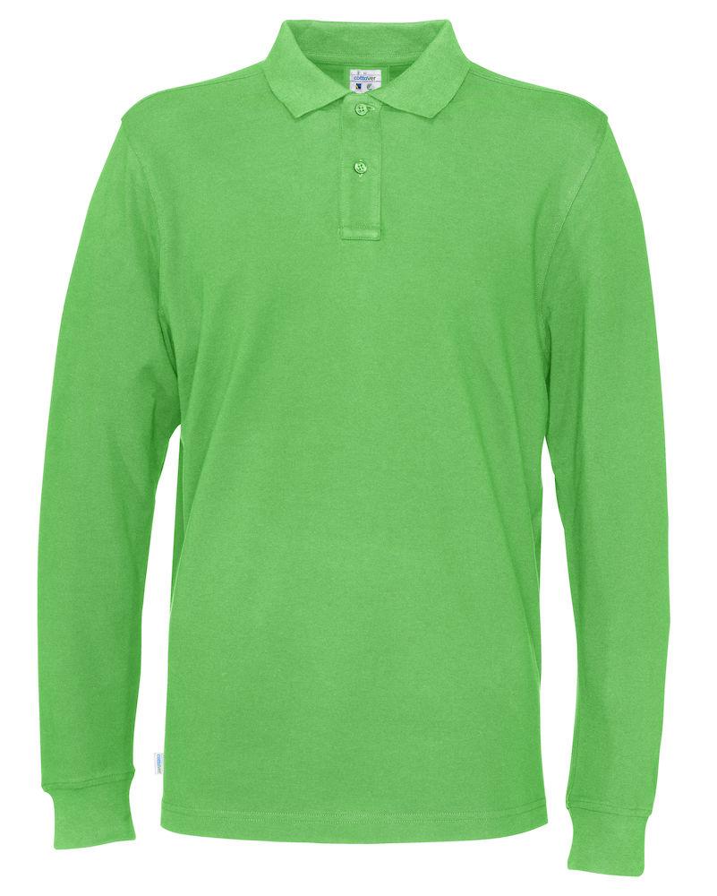 Piquet Long Sleeve Man grön