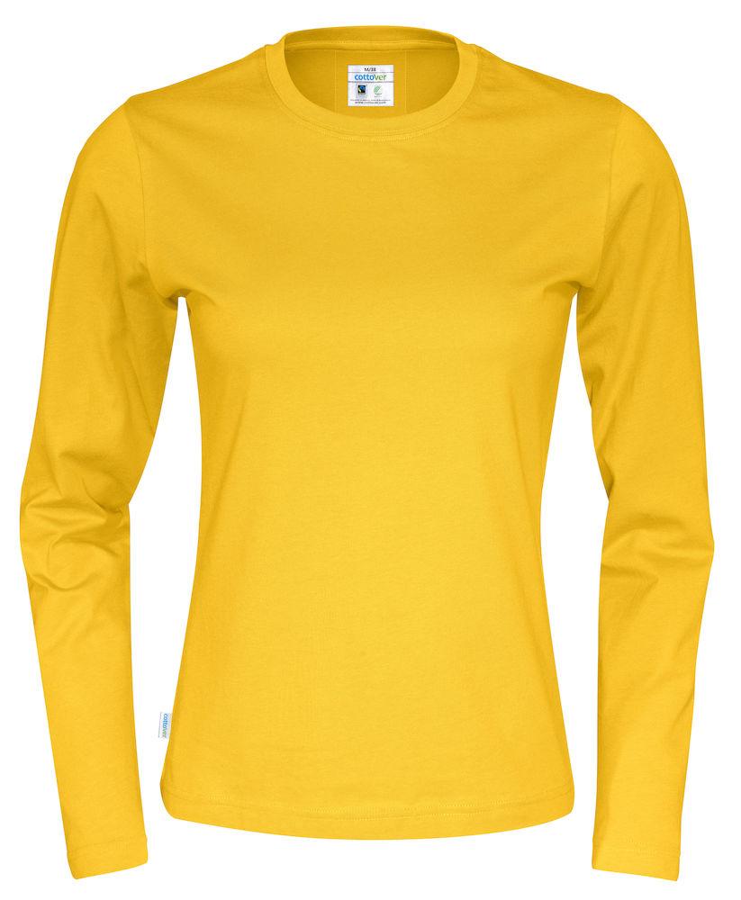 T-shirt Lady L/S Yellow