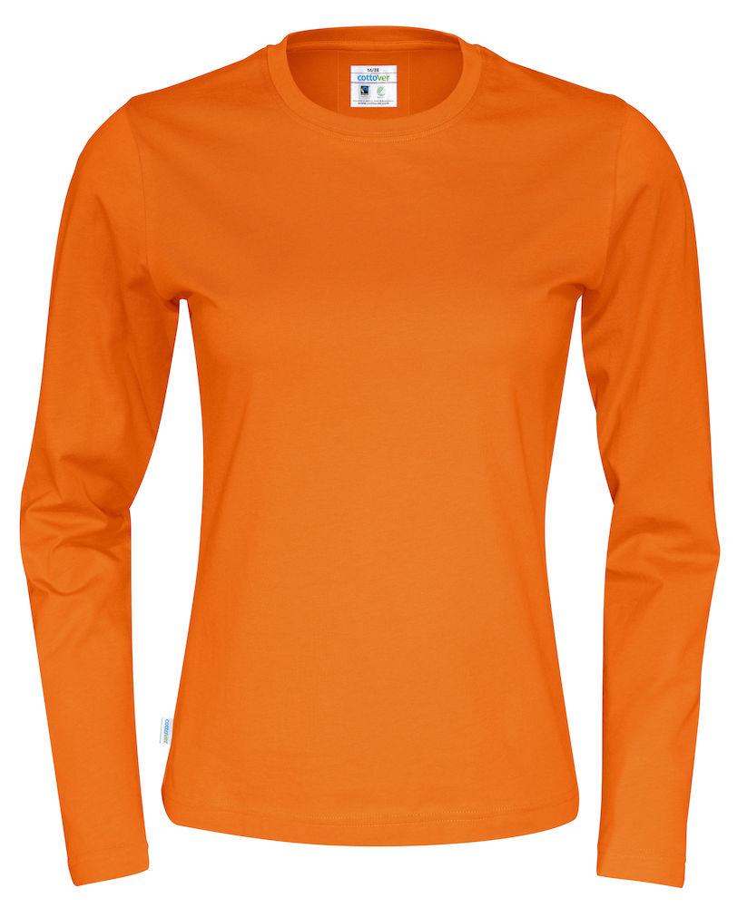 T-shirt Lady L/S Orange