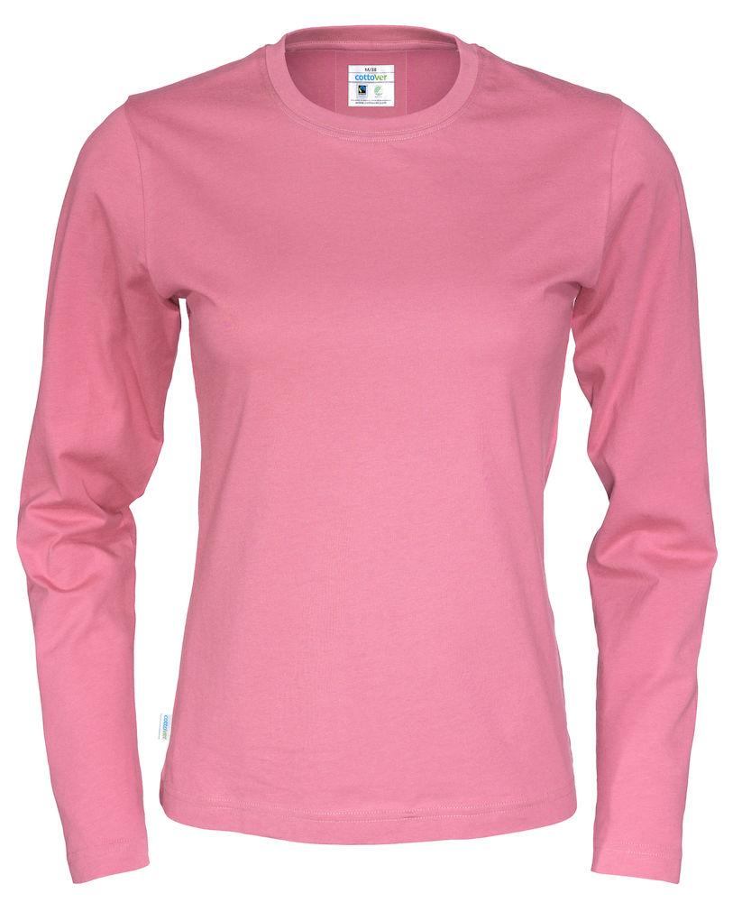 T-shirt Lady L/S rosa