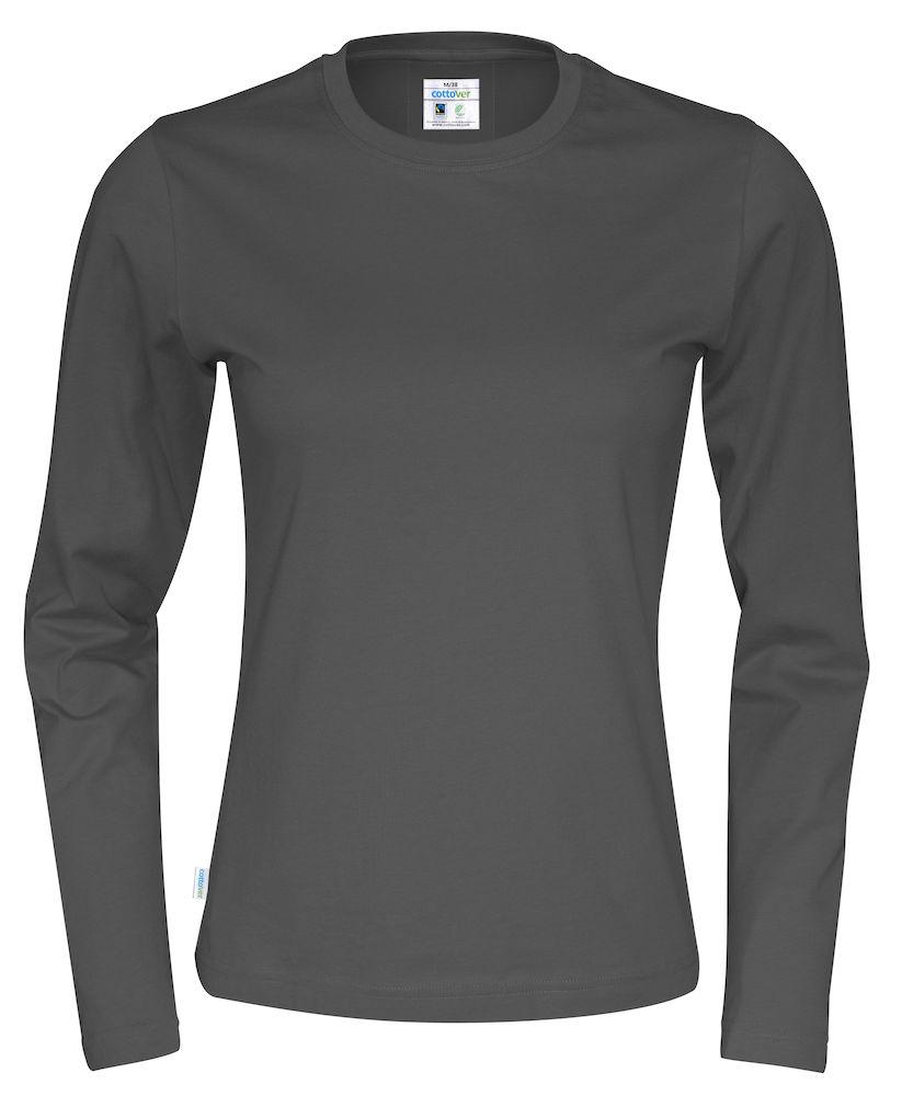 T-shirt Lady L/S Charcoal