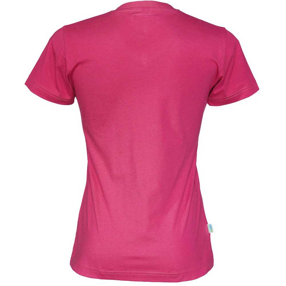 T-Shirt V-Neck Lady Cerise