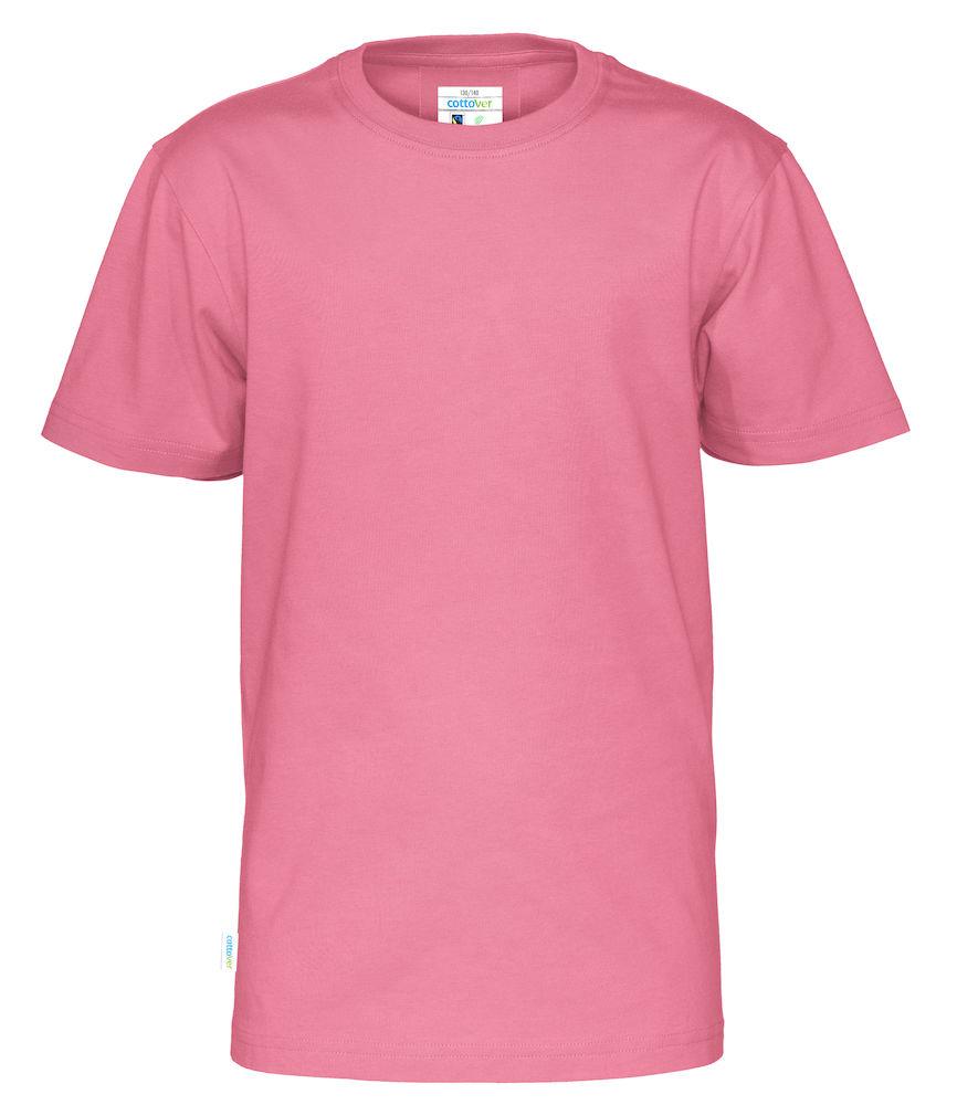 T-Shirt Cottover Kid Rosa