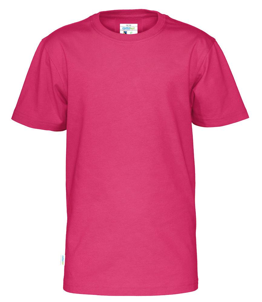 T-Shirt Cottover Kid Cerise