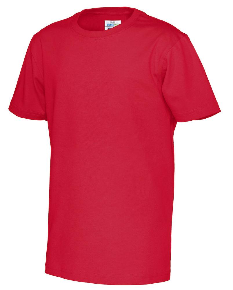 T-Shirt Cottover Kid röd