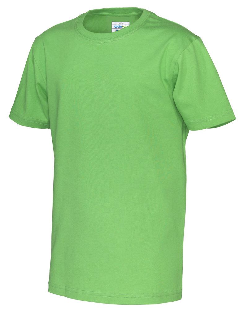 T-Shirt Cottover Kid grön